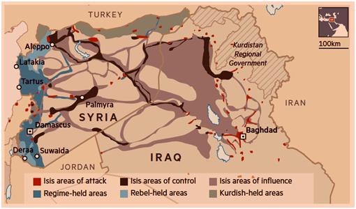 areas of oil control